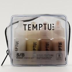 Temptu S/B Set de coloretes y iluminadores, 8 piezas