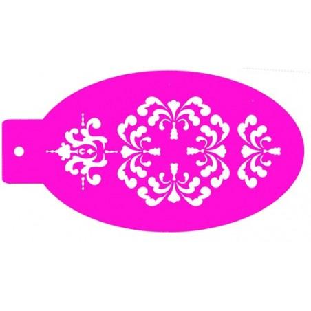 plantilla para pintacaras ornamento 2