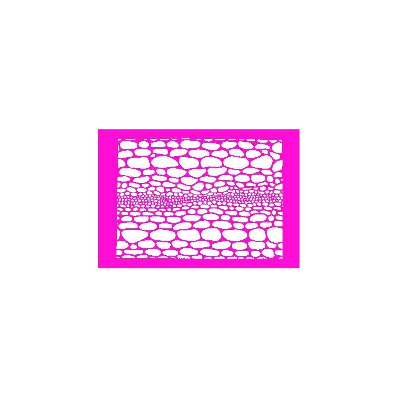 plantilla para bodypainting astilla de vidrio