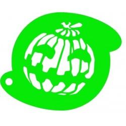 plantilla para pintacaras calabaza no. 2 Halloween