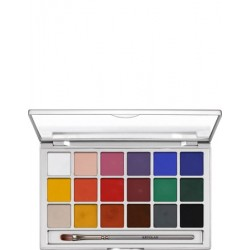 "Kryolan Color Vision Paleta 18 Colores ""Stage"""