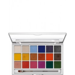 "Kryolan Color Vision Paleta 18 Colores ""Vivid"""