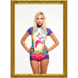Lora Art Swimwear Collection 14 - modelo Roseonblack