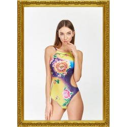 Lora Art Swimwear Collection 1 - Blooming Skull