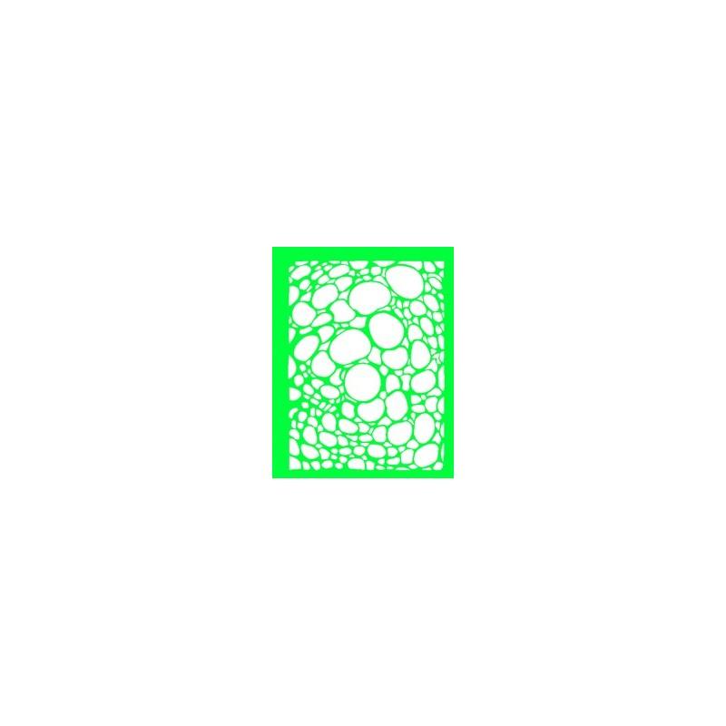 plantilla para bodypainting calavera con ornamentos