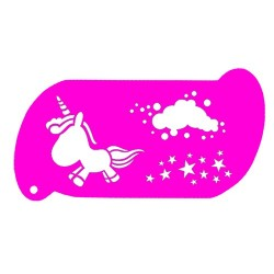 plantilla para pintacaras unicornio 3