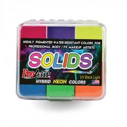 Proaiir Solids Neon Palette