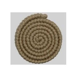 crepé de lana, color rubio...