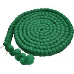 crepé de lana, color verde...