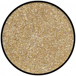 purpurina holográfica dorado arcoiris grueso 6g